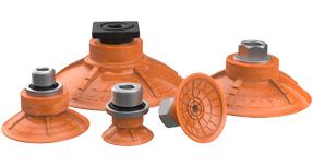 Vacuum Cups - Deep Concave