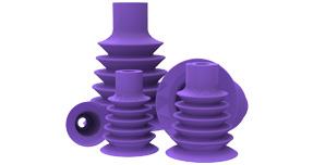 Value Line® long bellow suction cups (20–75 mm/0.8–3.0″)