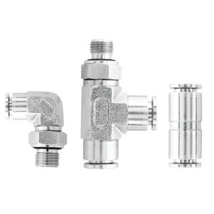 Push-in Fittings – 316 Stainless Steel