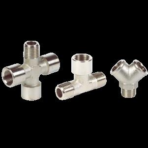 Metal Pipe Fittings – Nickel Plated Brass